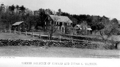 Summer Residence of Edward and George C. Whitney